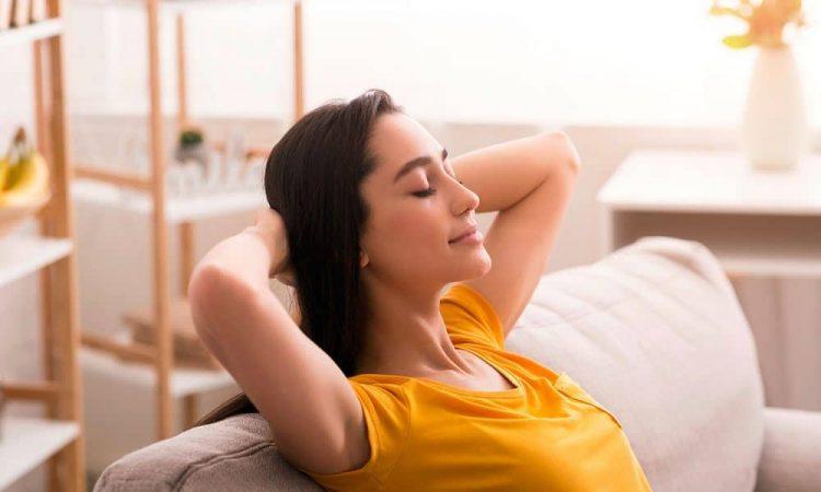 disfrutar del tiempo de descanso