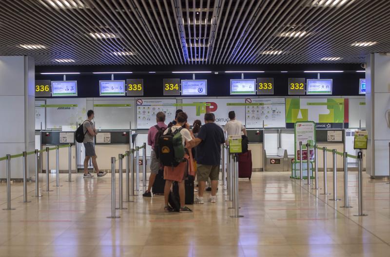 La llegada de turistas internacionales entre enero y mayo cayó un 85% respecto a 2019