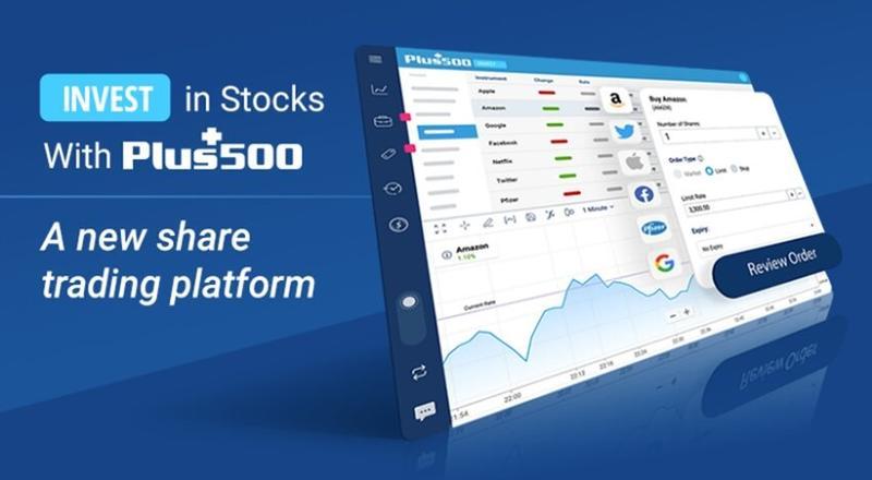 Plus500 lanza una nueva plataforma de 'trading' de acciones