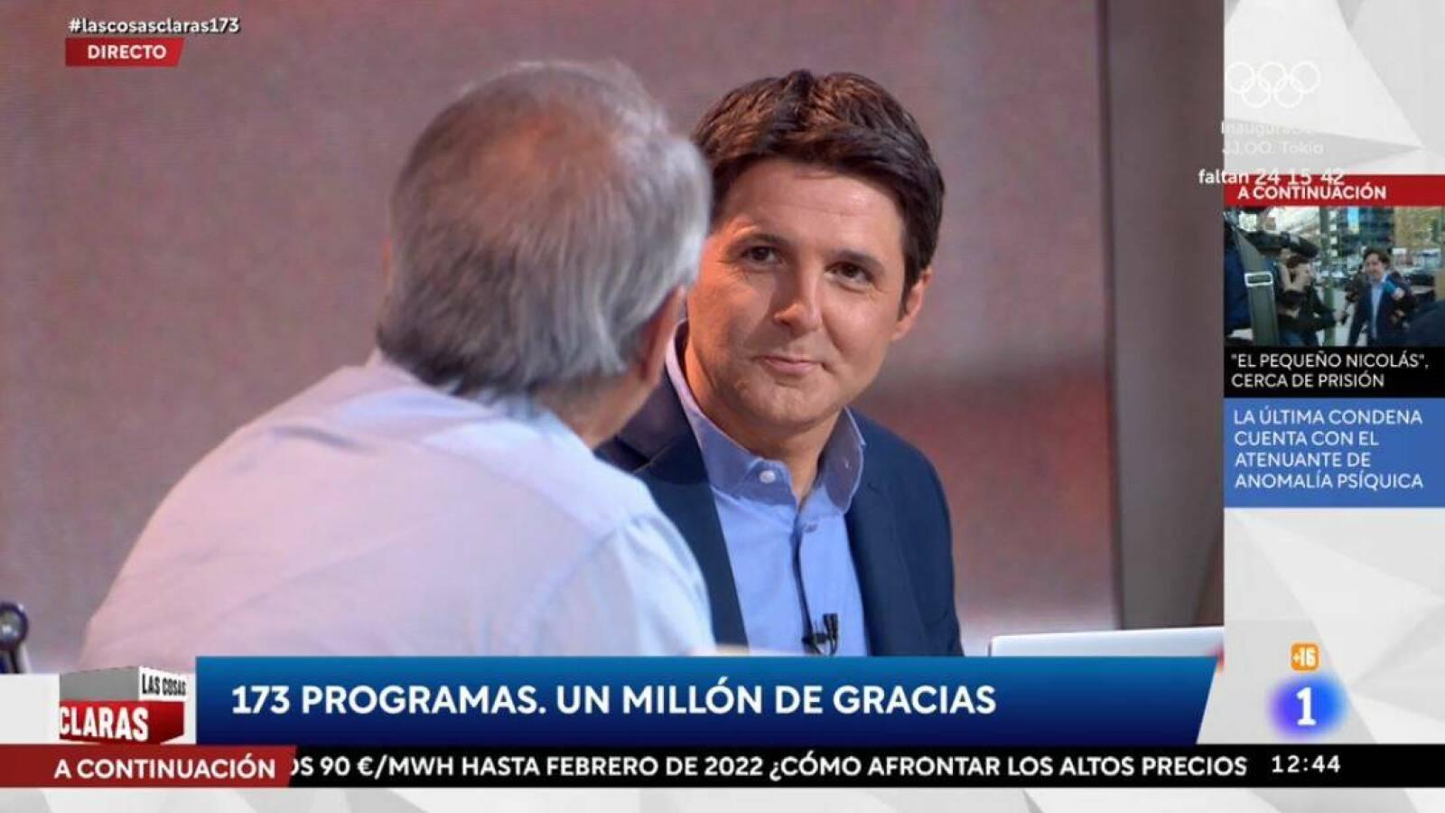 """TVE Confidencial: el día que Cintora se despidió de Contreras con """"distante cordialidad"""""""