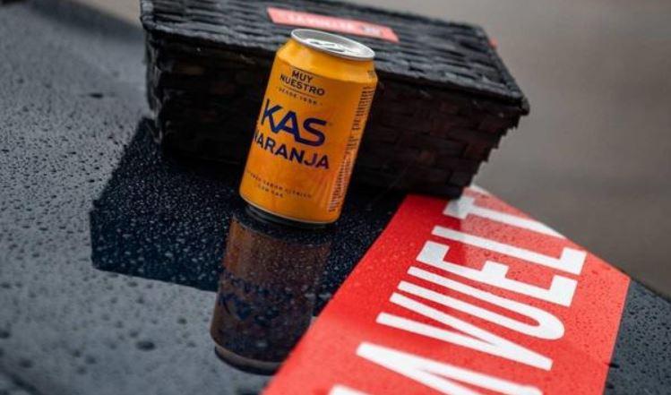 KAS será el refresco y proveedor oficial de La Vuelta ciclista a España