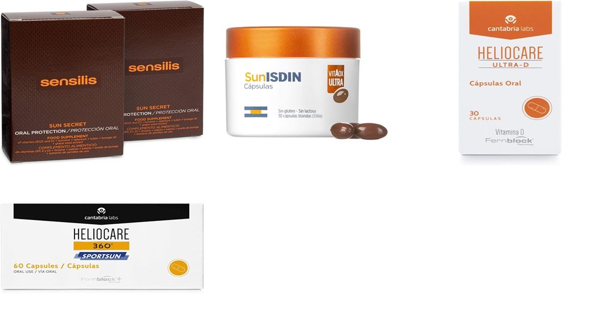 Heliocare, SunISDIN y Sensilis : 8 cápsulas para proteger a tu piel del sol desde el interior y que vuelan en Amazon este verano