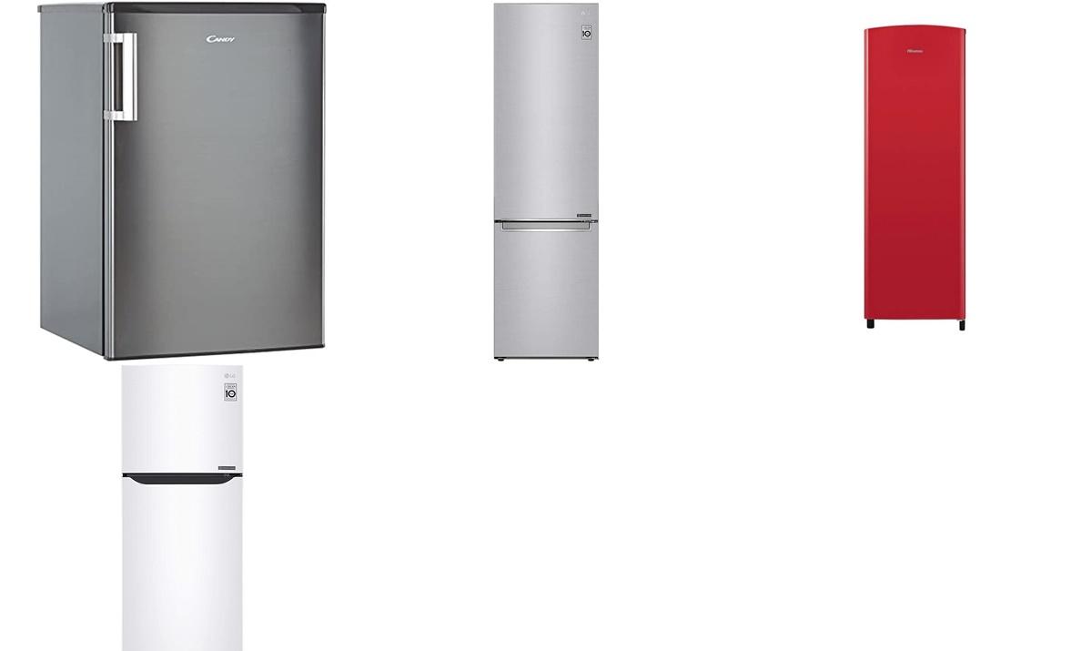 Candy, Hisense y LG:  las mejores ofertas de la semana de las neveras y congeladores de Amazon