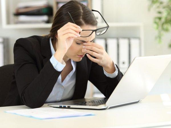 fatiga visual sintomas