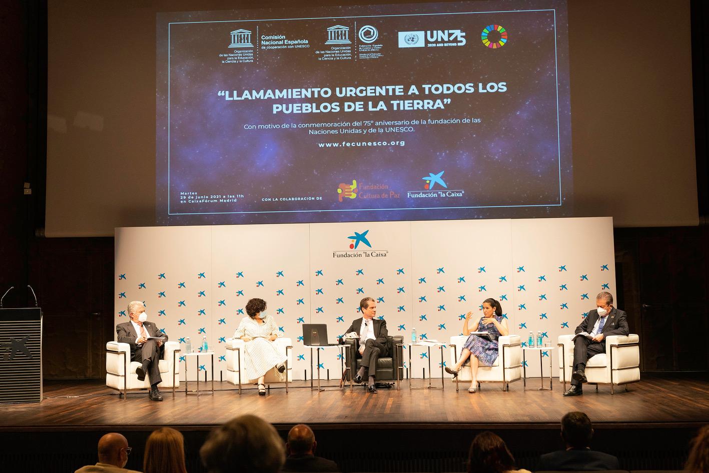 """Desde Madrid se hará un """"Llamamiento Urgente a los Pueblos de la Tierra"""""""