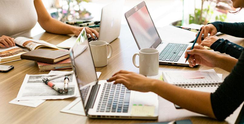 rutina de trabajo al emprender negocio