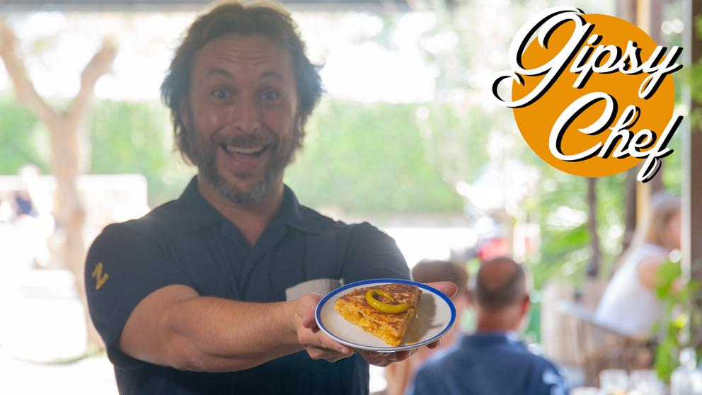 Olvida la tradicional: así es la revolucionaria tortilla de patatas de Gipsy Chef