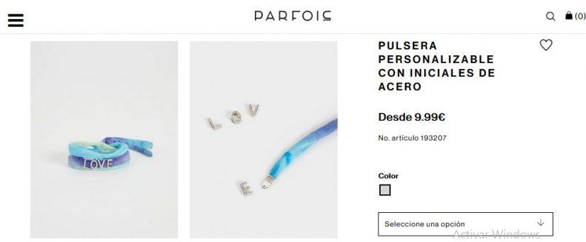 Pulsera Personalizable Con Iniciales De Acero