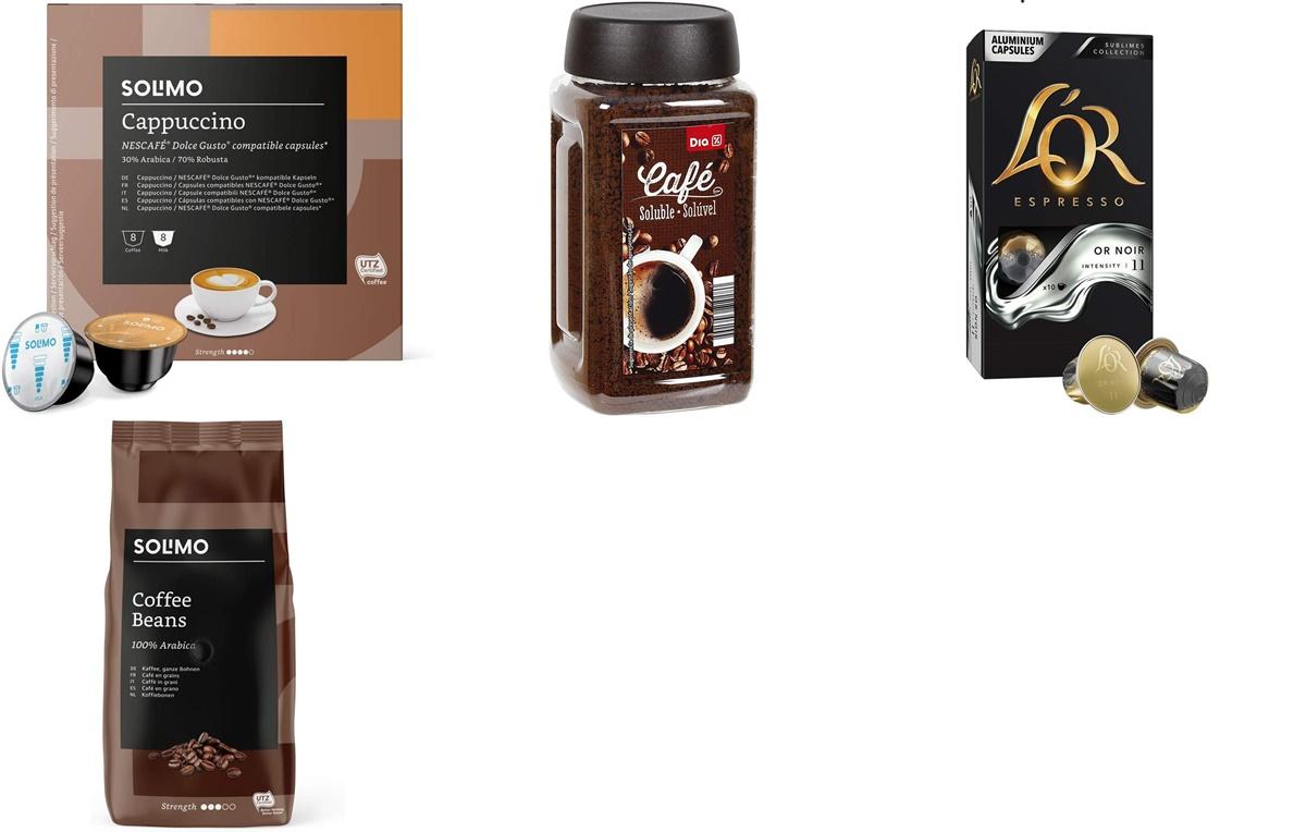 LOR, Solimo y DIA: compra el café online y ahorra en tus desayunos con Amazon