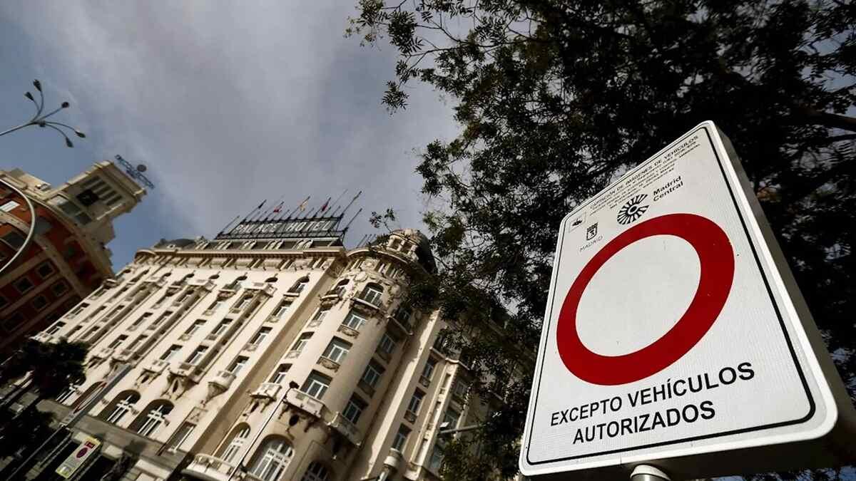 Madrid Central: cuándo entra en vigor y qué coches podrán acceder