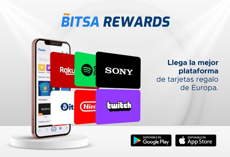 BITSA Rewards, la mayor tienda de cupones canjeables de Europa