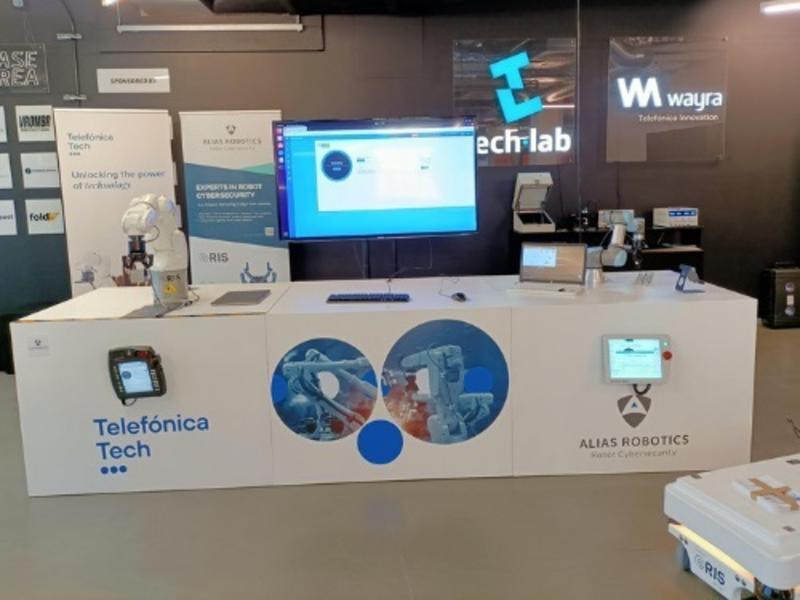 Telefónica Tech y Alias Robotics inauguran en Munich el primer laboratorio dedicado a ciberseguridad robótica