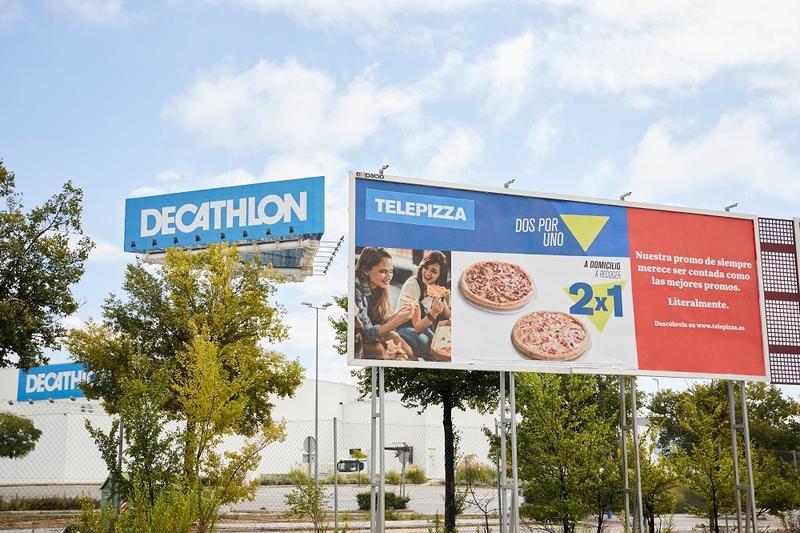 Telepizza lanza nueva campaña inspirada en Decathlon, MediaMarkt y Carrefour