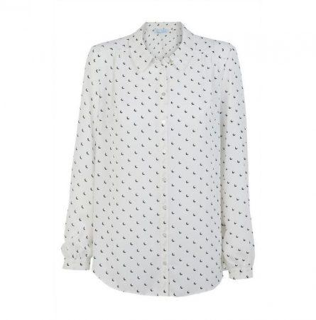 Camisa estampada de crepé Primark