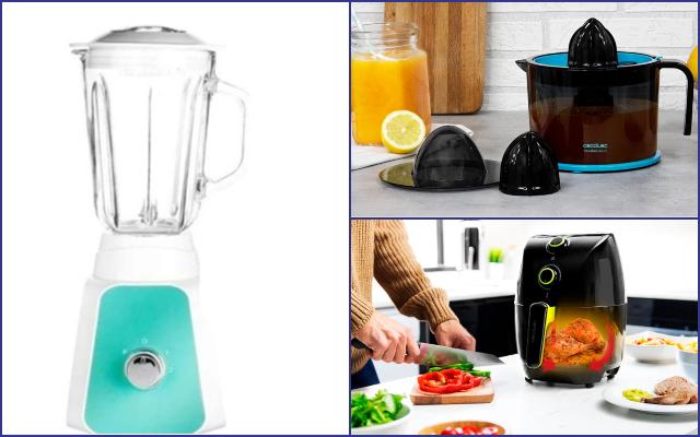 Nueve pequeños electrodomésticos de AliExpress con precios de risa