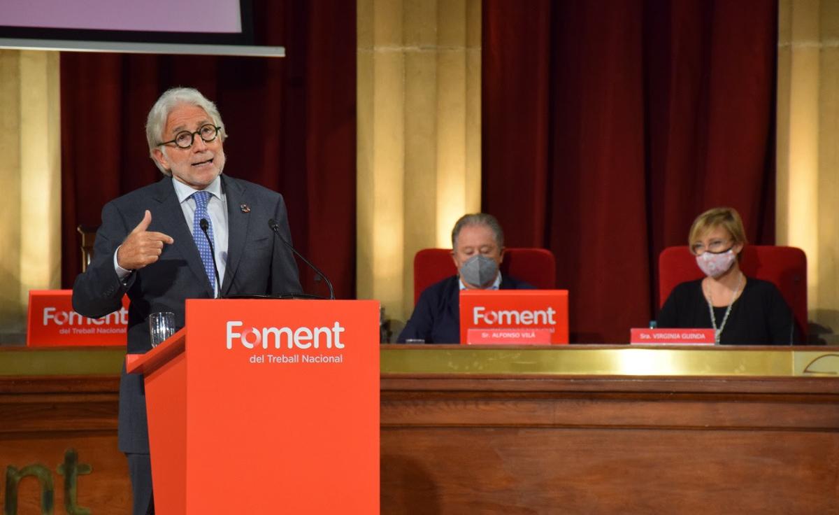 Pimec y Foment estallan contra ERC y Podemos por el bloqueo a Aena