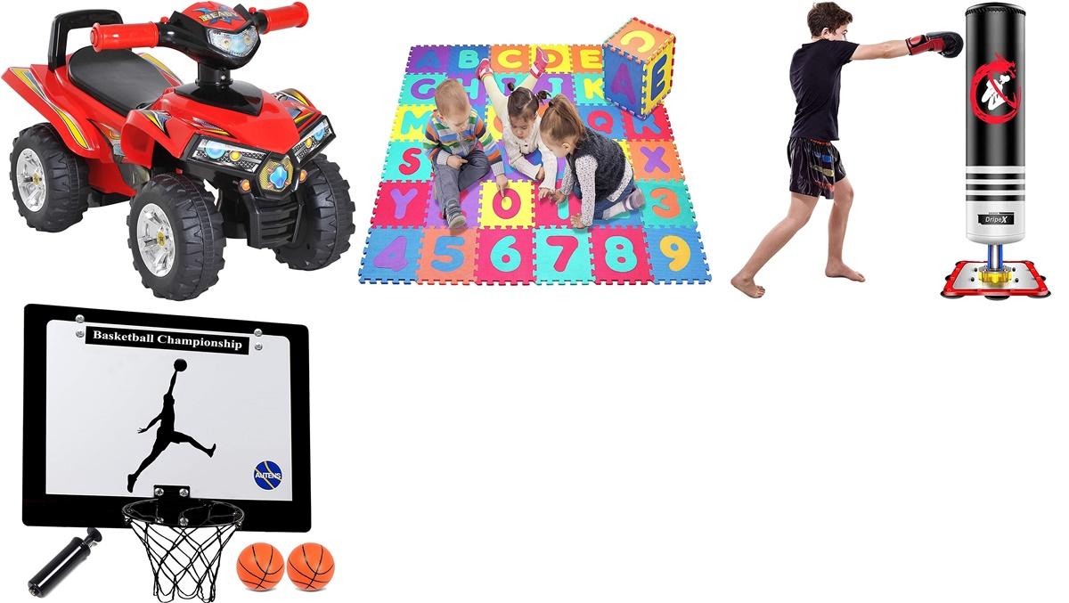 Amazon: canastas de baloncesto, coches sin pedales y otros juguetes muy divertidos para jugar en familia