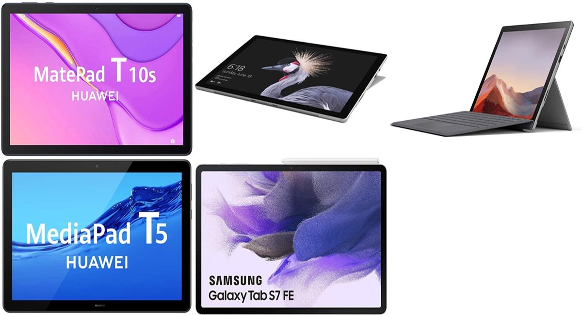 Samsung, Microsoft o Huawei: Tablets increíbles al mejor precio con la Oferta Top de Amazon