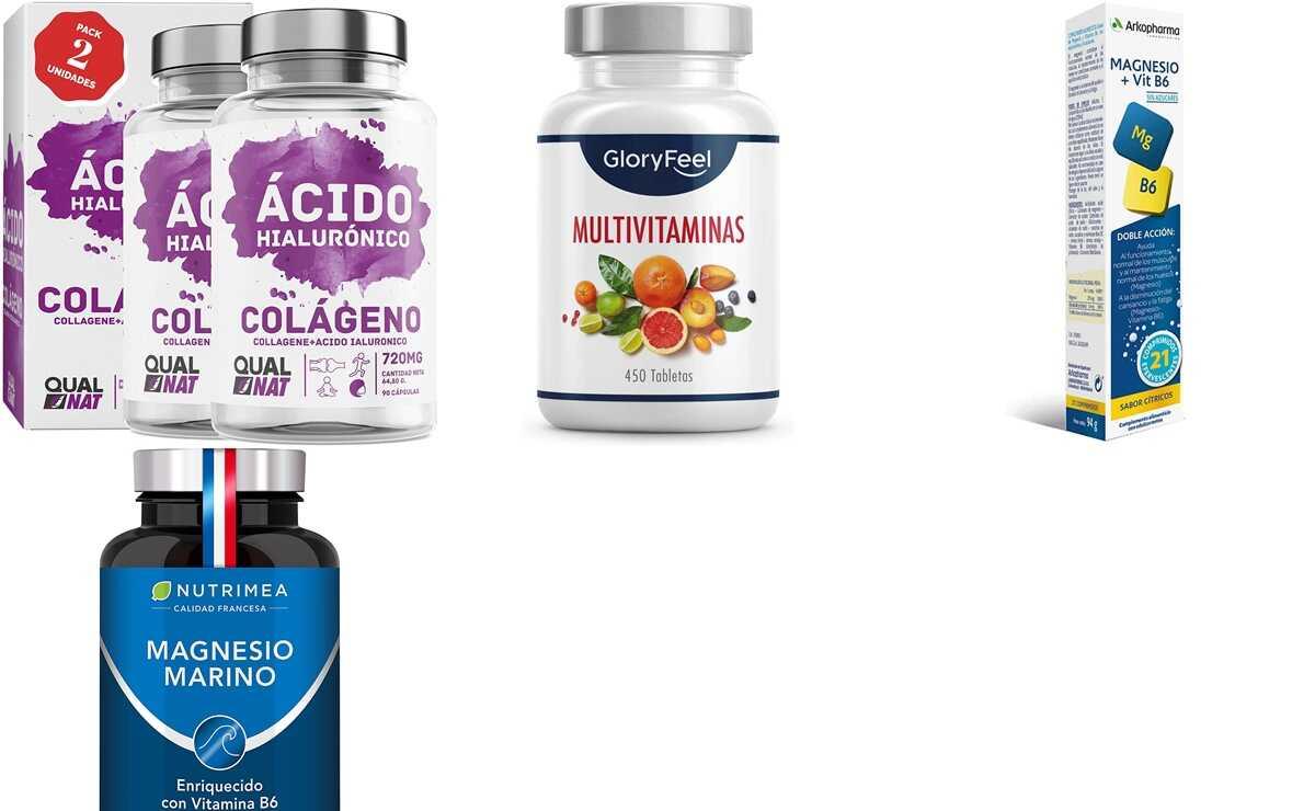 Amazon: 8 complementos vitamínicos para aguantar el ritmo y sentirte con energía