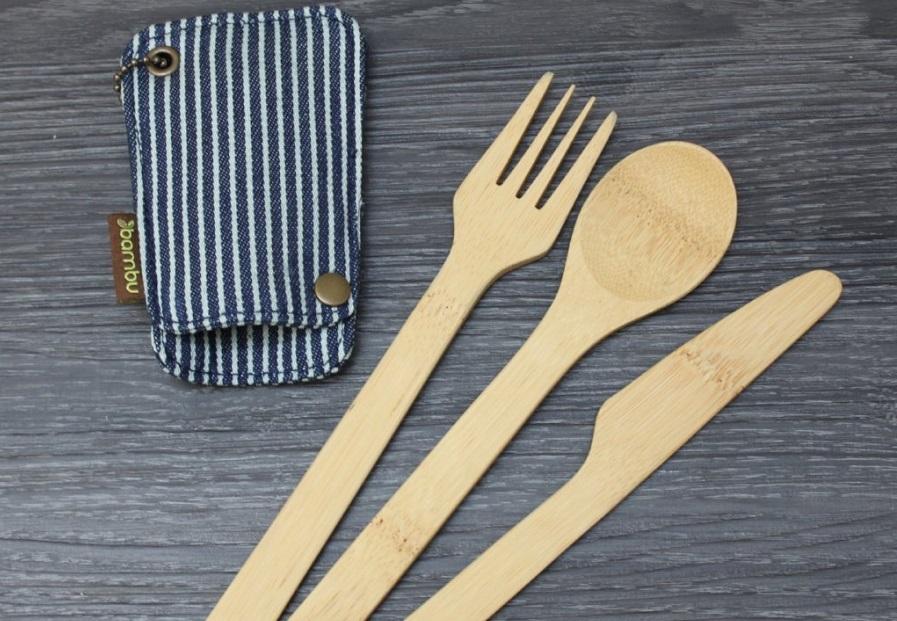 Los cubiertos 'ecólogicos' con bambú son aún más peligrosos que los de plástico