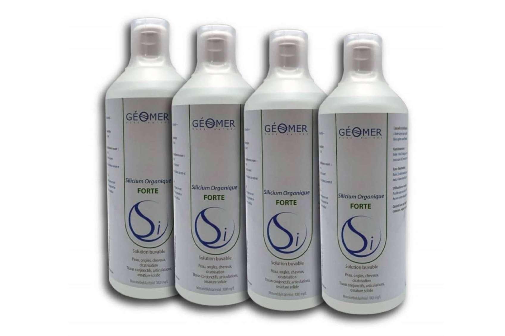 Laboratorios Géomer ofrece un complemento alimenticio con múltiples beneficios para la salud: Silicio Orgánico Fuerte