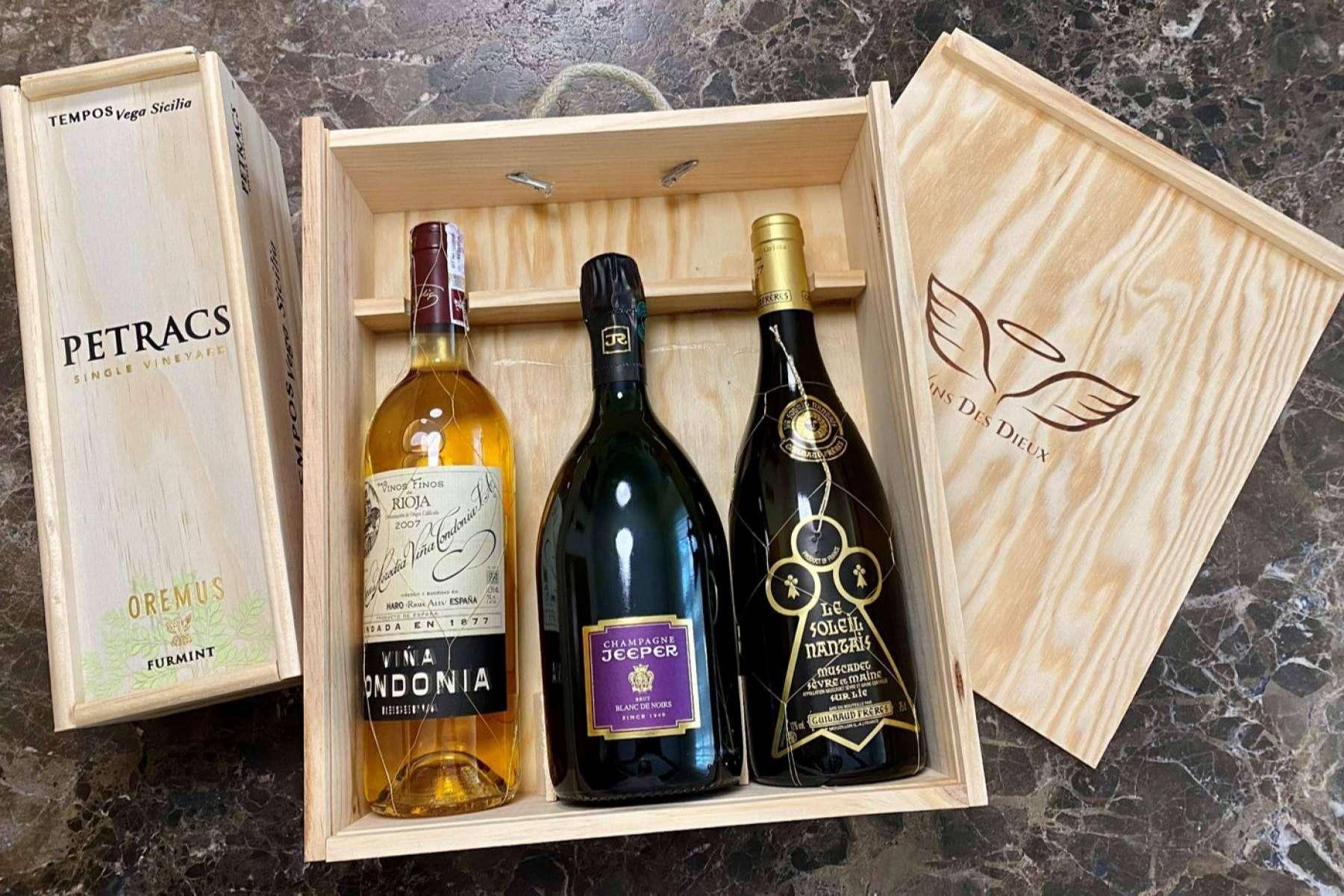 El top 10 de vinos blancos que se deben probar en Vins des Dieux