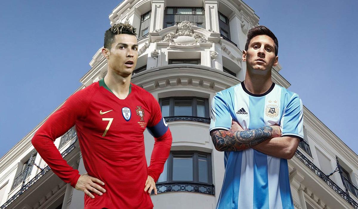 Cristiano Ronaldo vs. Leo Messi: duelo en la suite