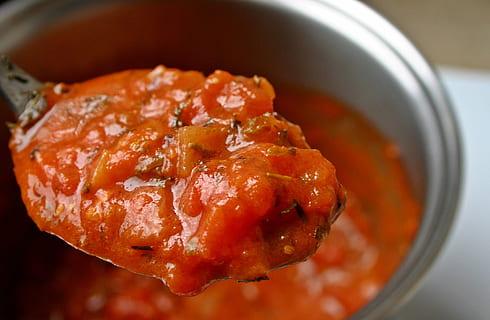 secreto salsa de tomate