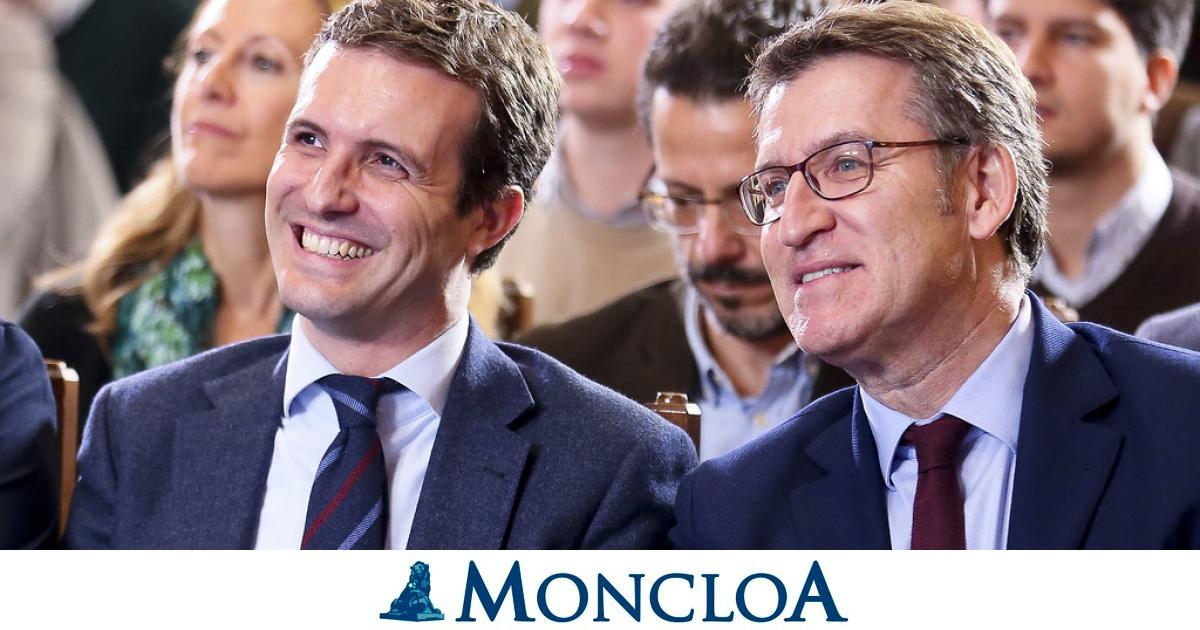 Feijoo inicia su andanza para ser presidente del PP y busca liderar una coalición de barones