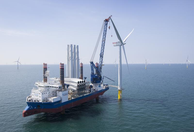 Iberdrola se da un año para un posible 'spin-off' del negocio de eólica marina
