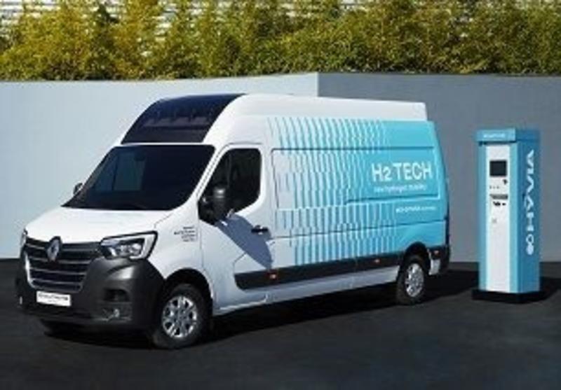 Economía/Motor.- Hyvia desvela sus primeros prototipos de hidrógeno, vehículos comerciales y estaciones de servicio