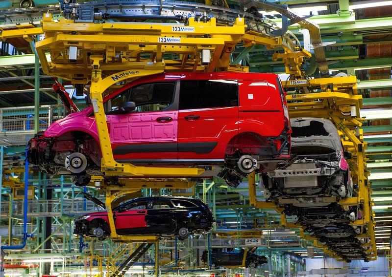 Ford Almussafes vuelve a modificar los paros del ERTE por la falta de microchips