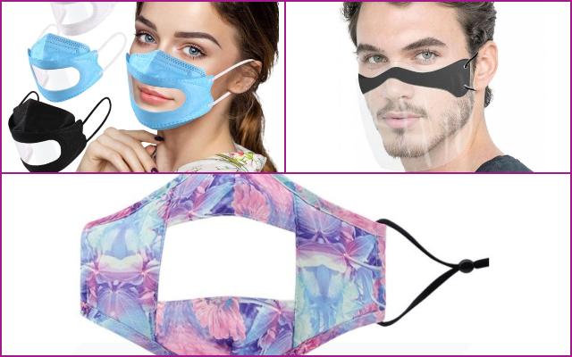 Las mascarillas transparentes de Aliexpress que arrasan en ventas este otoño