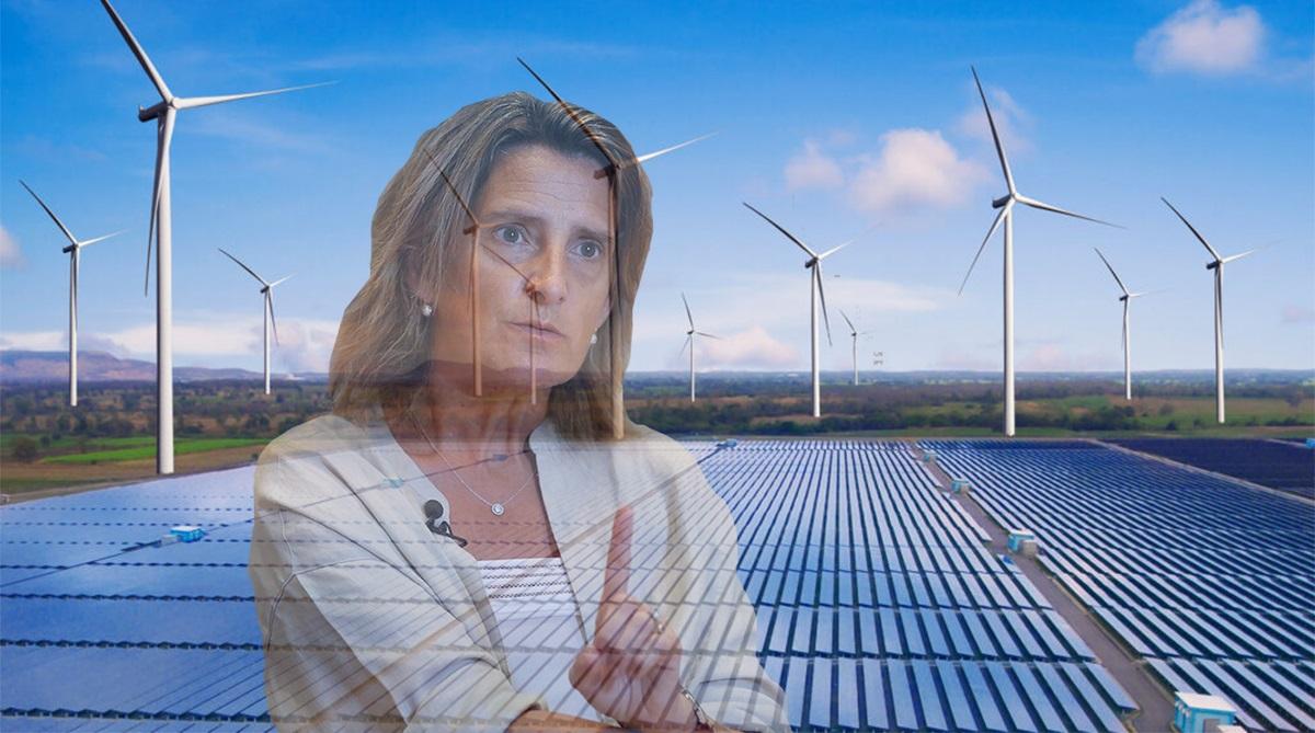 Ribera se borra frente al parón renovable y la dependencia de Francia