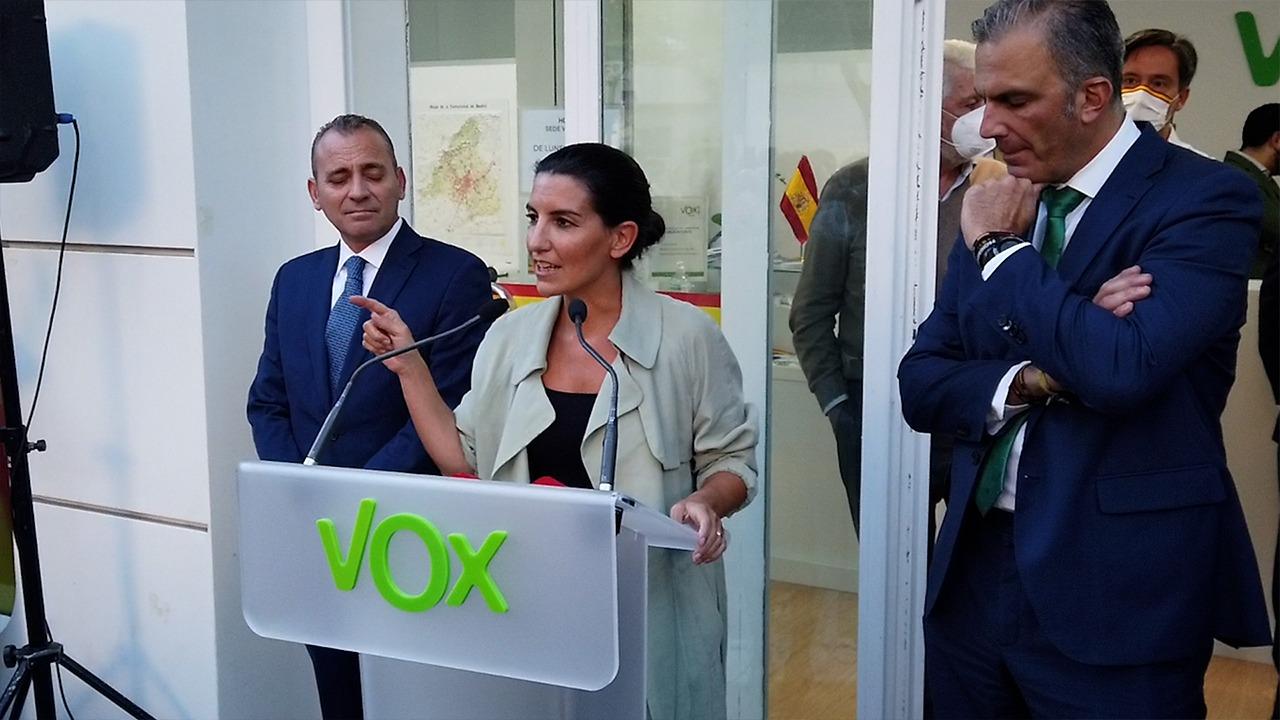 Monasterio y Espinosa de los Monteros colocaron las sedes de Vox en Chamartín por estar «cerca de su casa»