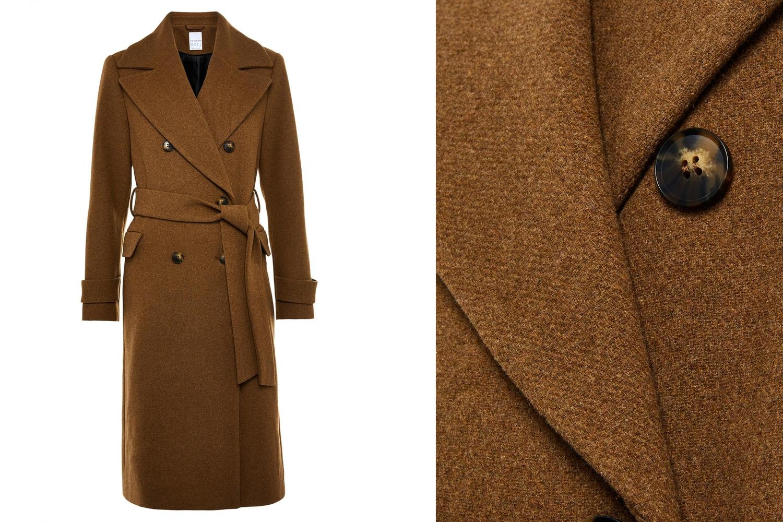 abrigo bicolor Primark