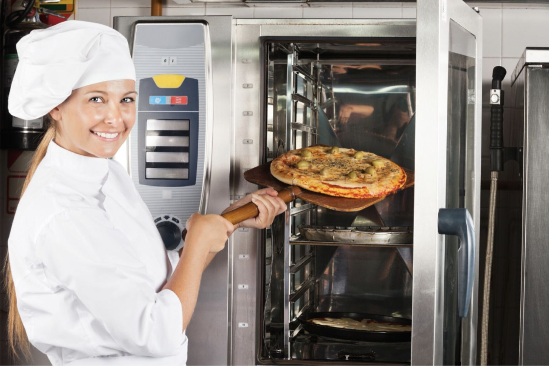 Hornos industriales para hostelería, panadería, pastelería y pizzería