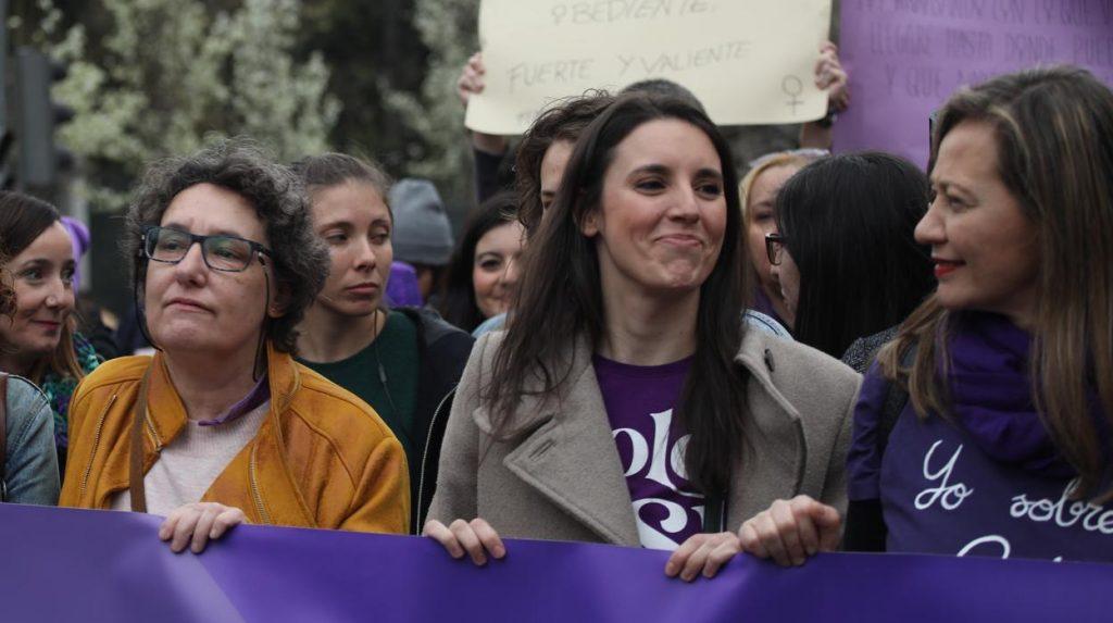 Irene Montero tantea las universidades como posible salida de la política