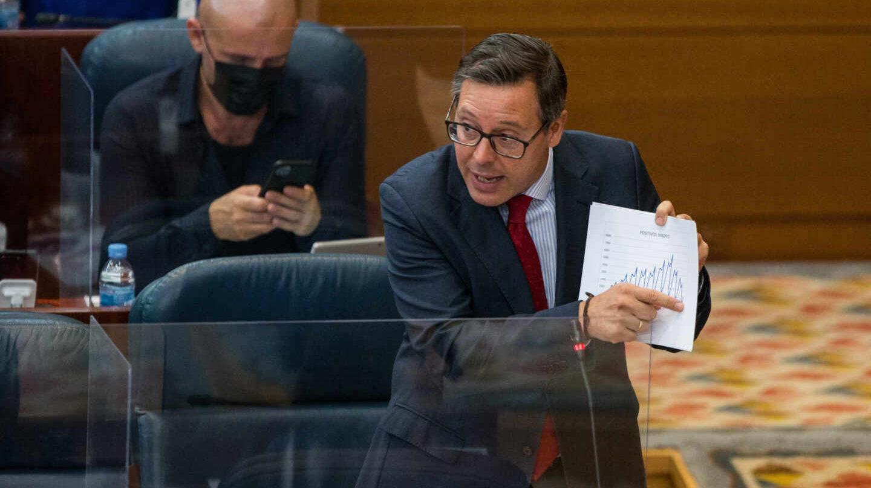 Alfonso Serrano maniobra para convertirse en secretario general del PP de Madrid